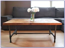 coffee tables attractive steel pipe coffee table legs home