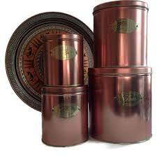 copper canister set kitchen best copper canister set products on wanelo