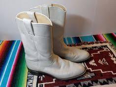 womens cowboy boots size 9 1 2 dingo white fringe slouch s cowboy boots