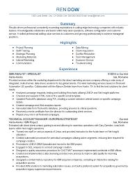 Model Resume Example Data Modeling Resume Baileybread Us