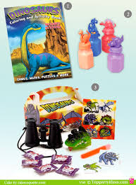 dinosaur party favors dinosaur birthday party ideas