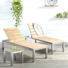 Costco Lounge Chairs Outdoor Chaise Lounge Chairs With Cushions Macon 3 Piece Teak
