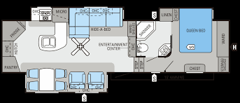 durango 5th wheel floor plans fifth wheel floor plans new 2014 eagle fifth wheels floorplans
