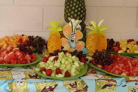 Spongebob Centerpiece Decorations by Spongebob Birthday Party Ideas Photo 2 Of 11 Catch My Party