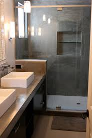 southern bathroom ideas concrete sink u0026 shower concrete wave design concrete sinks