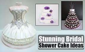 kitchen tea cake ideas stunning bridal shower cake ideas different types of bridal