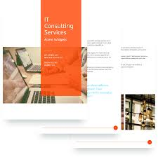 it services proposal template free sample