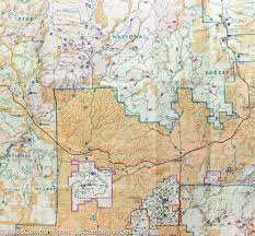 Colorado National Monument Map by Trail Map Of Pikes Peak Canon City Colorado 137 National