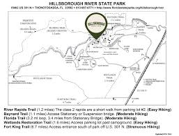 Georgia State Parks Map by Things To Do Hillsborough State Park Thonotosassa Fl