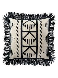 Loloi Pillows Geometric Fringed Pillow Home Fashion Decor