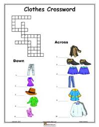 clothes english vocabulary printable clothes dressing weather