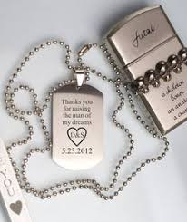 mens dog tags engraved personalized dog tag necklace actual signature neclace engraved