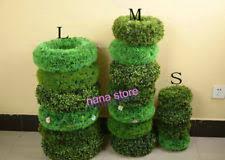 4 u0027 artificial boxwood topiary christmas tree uv outdoor cone