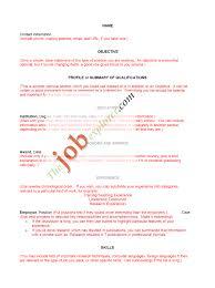 Resume Template Nz Curriculum Vitae Template New Zealand