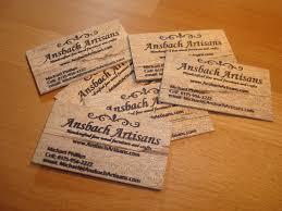 oversized business cards wooden business cards michael lumberjocks