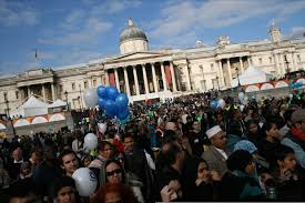 Celebration In Uk Eid Celebration In Trafalgar Square Spirit21
