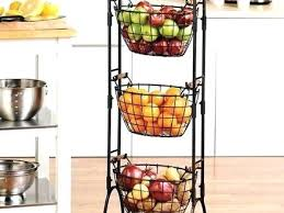 wall fruit basket wall fruit basket kitchen basket storage fruit basket 3 tier