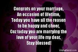 Wedding Congratulations Message Wedding Congratulations