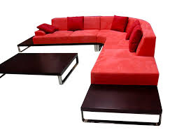 red livingroom living room living room furniture leather chaise and classic red