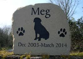 headstones for dogs pet loss markers and headstones