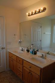 bathrooms design vanity with mirror and lights powder room