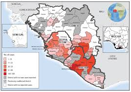 west africa map ebola cdc ebola virus disease outbreak west africa september 2014