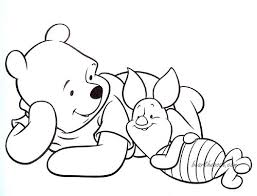 winnie pooh piglet coloring pages coloring