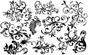 flourish ornate elements vector vector graphics