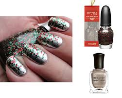 lux beauty holiday nail art ladylux online luxury lifestyle