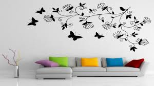 Simple Wall Paintings For Living Room Art Above Bed Apartment Therapy Cheap Wall Decor Diy And Ideas For