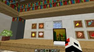 minecraft cool and modern office room interior design youtube