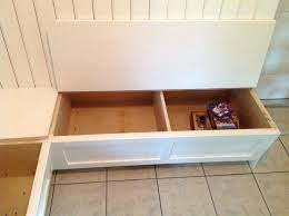 Diy Timber Bench Seat Plans by Building A Corner Bench Seat With Storage Kitchen Dining Corner