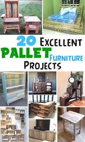 Furniture Projects 20 Excellent Pallet Furniture Projects 101 Pallets