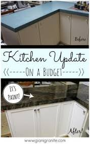 Painted Kitchen Countertops by Best 20 Cheap Kitchen Countertops Ideas On Pinterest U2014no Signup