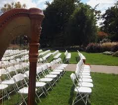 Botanical Gardens In Illinois Peoria Wedding Harpist Ceremony At Luthy Botanical Gardens