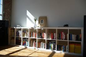 bookshelves design long white painted pine wood display bookshelves which slicked up