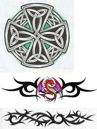 celtic cross tattoos 2