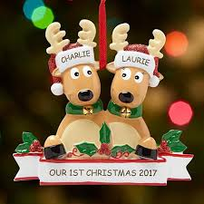 rocking reindeer family ornament 10076030 hsn