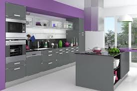 cuisines grises cuisine gris clair et blanc maison design bahbe com