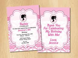 My Birthday Invitation Card Barbie Birthday Invitation Cards Barbie Invitation Wording