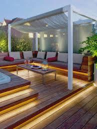 Houzz Patios Garden Design Garden Design With Deck Design Ideas Remodels Uamp