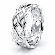 celtic knot ring celtic wedding bands cymbaline celtic knot ring comfort fit 7mm