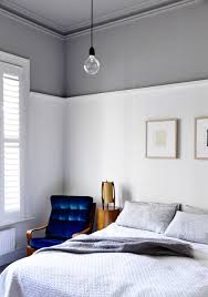 in the main bedroom walls are in dulux natural white below the