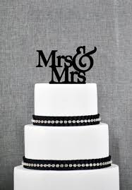 mrs and mrs cake topper mrs mrs cake topper text from thatgaysite