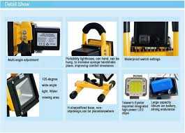 10w rechargeable flood light portable rechargeable led flood light 10w for indoor and outdoor