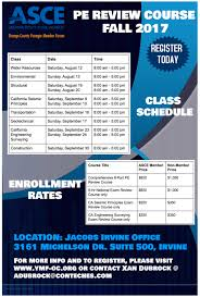 fall 2017 pe review course tickets sat aug 12 2017 at 8 00 am