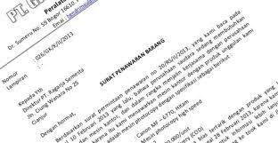 format berita acara kerusakan mesin 7 contoh surat penawaran harga barang kerjasama dan jasa file