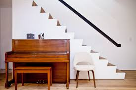 how to build stairs in a small space inside the gowanus house that sprouted a sculptural blob curbed ny
