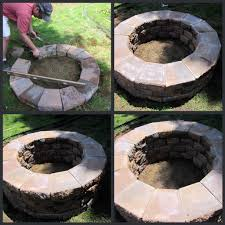 backyards charming best diy fire pit project ideas page 16 of 19