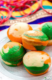 indian tricolor cupcakes cook with manali